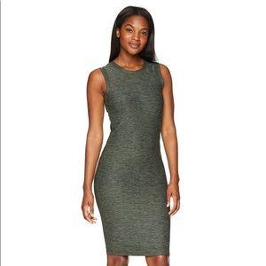 Prana Vortex Dress in Forest Green